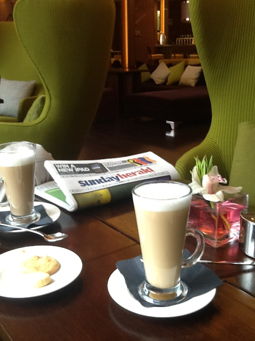Coffee in the Hotel