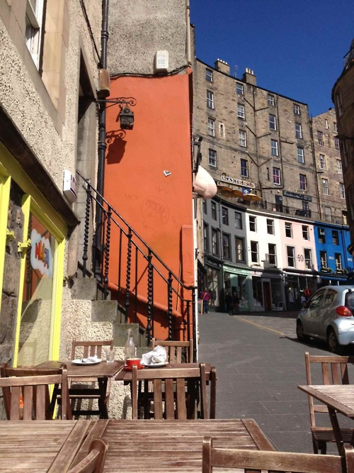 Lunch in the Grassmarket