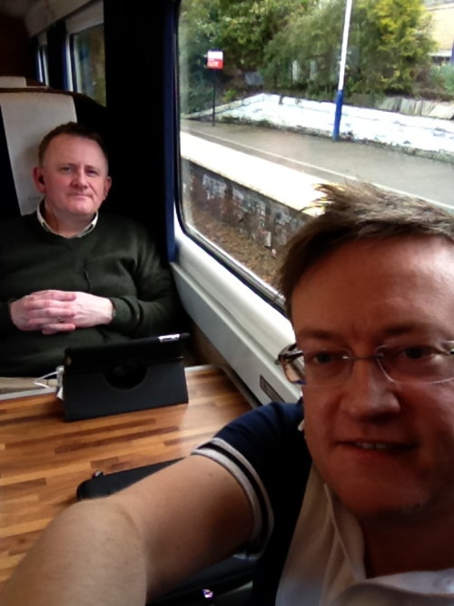 On Train Aberdeen to Ediburgh