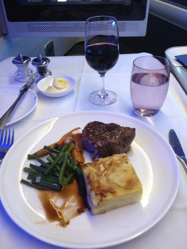 Meal onboard