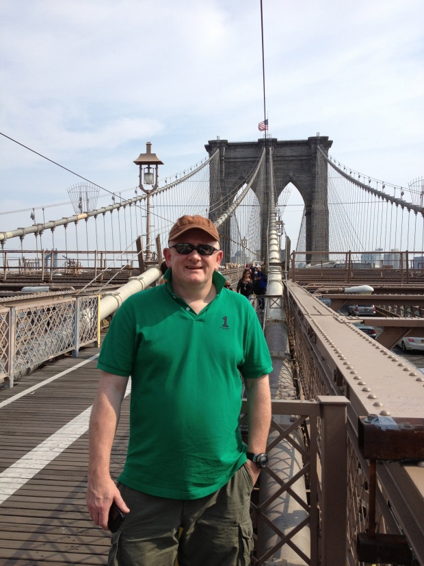 Stat of the Brooklyn Bridge walk