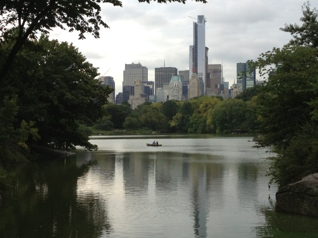 Central Park - Boating lake