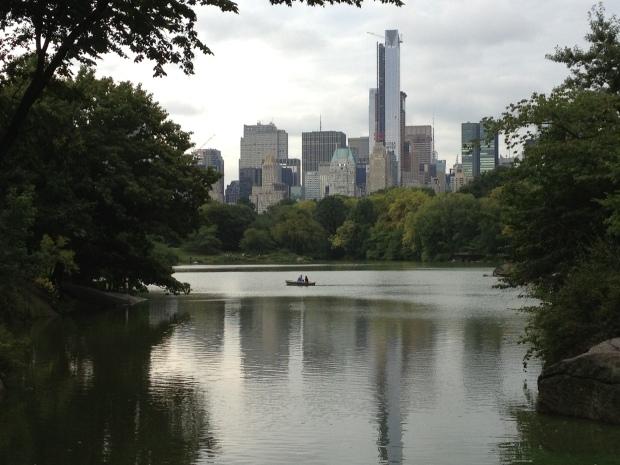 Central Park - Boating lake