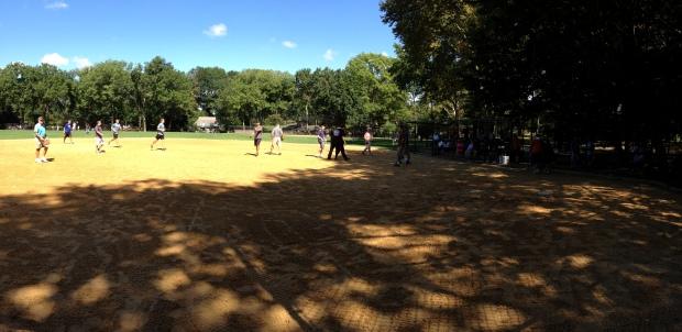 Central Park - Baseball Park